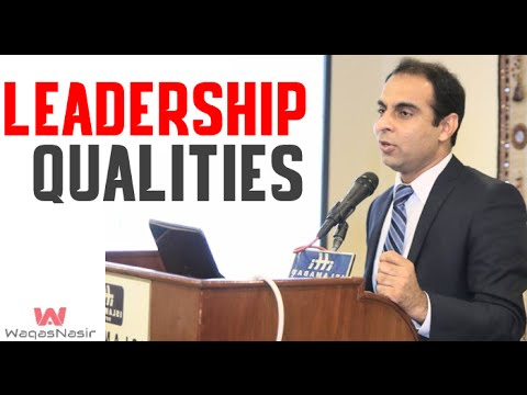 Top Leadership Qualities of a Project Manager- By Qasim Ali Shah (In Urdu/Hindi) 2016