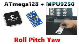 ATmega128 이용해서 MPU9250센서로 각도 측…