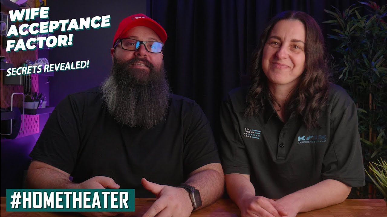 HOW TO GET WIFE APPROVAL TO BUILD A HOME THEATER! // Wife Acceptance Factor (WAF) SECRETS Revealed!