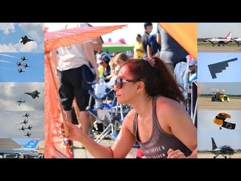 THUNDERBIRDS KILLED IT @ Joint Base Andrews Airshow 2017 - Vlog 051