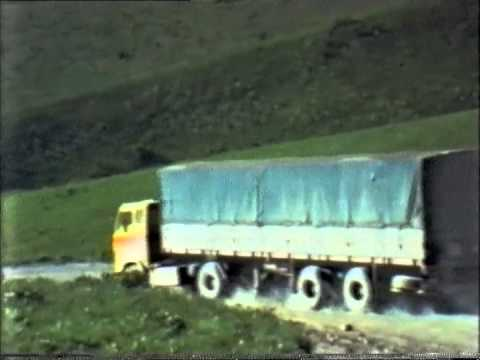 Road transports between Europe and Middle-East in the 70's