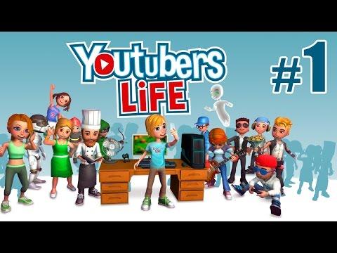 Как я стал лучшим ютубером (в игре) - Youtubers Life - #1