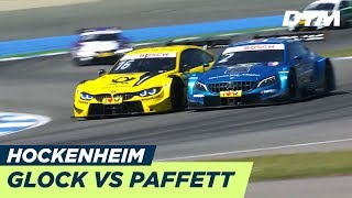 The most incredible fights! Glock vs. Paffet - DTM Hockenheim 2018