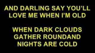 DARLING SAY YOU