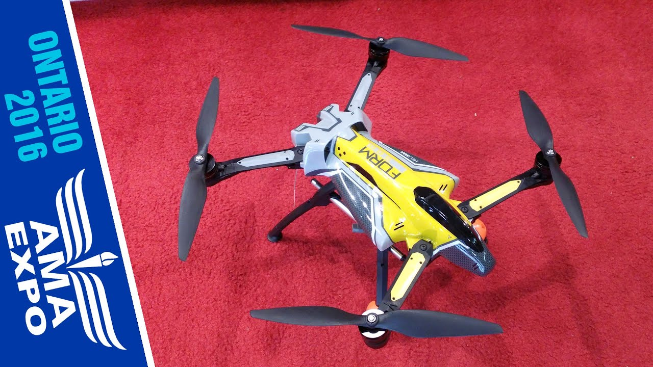 First Look at the Helimax Form 500 Utility Drone - YouTube