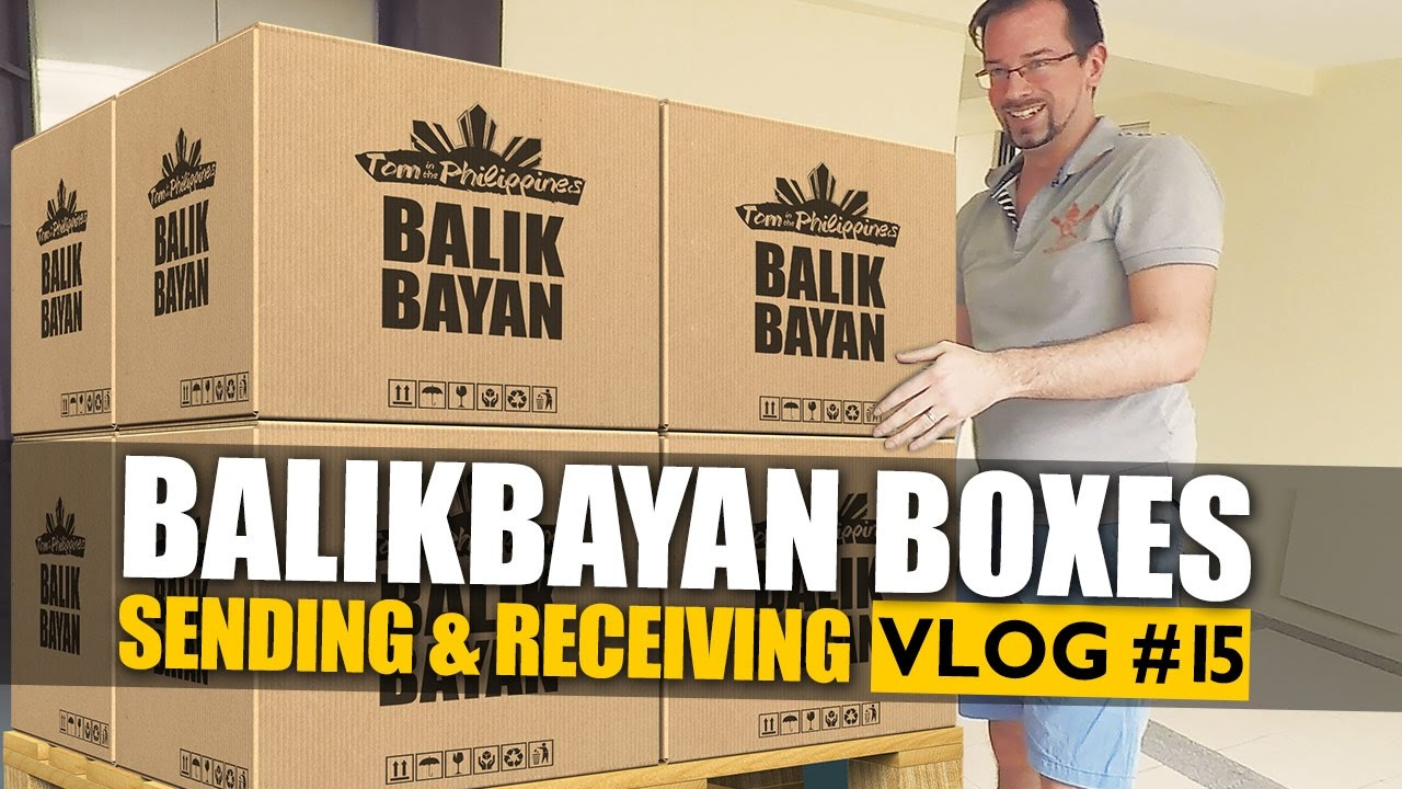 Balikbayan box - Sending and receiving in the Philippines