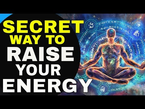 3 Secret Law of Attraction Techniques to INCREASE YOUR ENERGY & RAISE YOUR VIBRATIONAL FREQUENCY