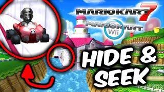 Mario Kart Wii Hide & Seek: MARIO KART 7 EDITION!
