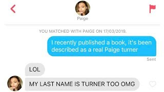 BEST TINDER CONVERSATIONS OF ALL TIME #6