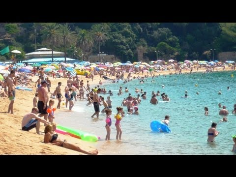 Fenals beach - Lloret de Mar, Costa Brava, Catalonia, Spain