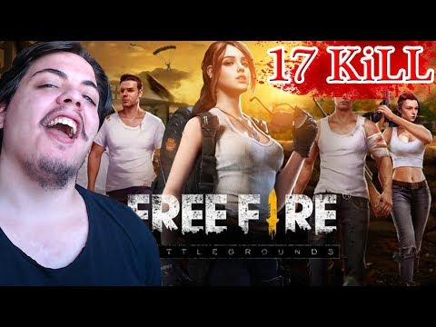 BOT?! First Game 17 KiLL - GARENA FREE FiRE