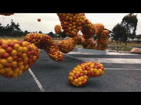 Fluid Particles IRL - 3D Motion Tracking with Blender