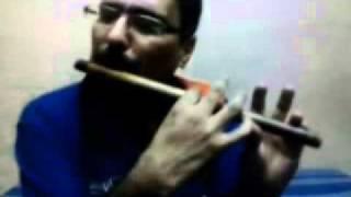 Download Hindi Video Songs - Tere Mere Milan Ki Ye Raina on flute.wmv