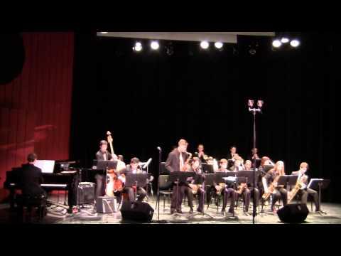 Nassau Suffolk Jazz Ensemble  Cut n Run  1 31 15  CW Post  Tilles Center