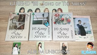 여자친구 (GFRIEND) 回 : Song of The Sirens Album Official Unboxin…