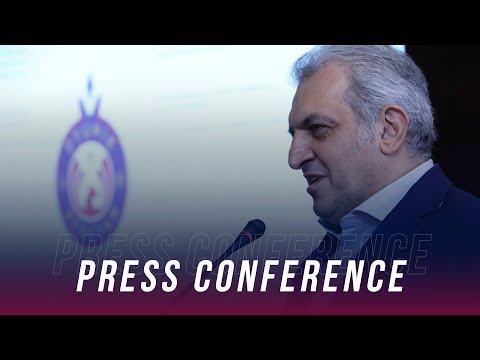 Artur Soghomonyan's Press Conference After Presentation Of Logo And Site