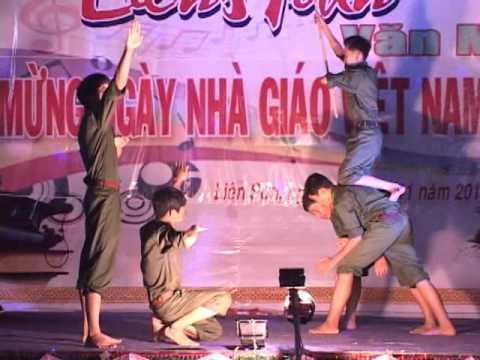 Dem Van nghe 20-11-2015 truong THCS Nguyen Trai