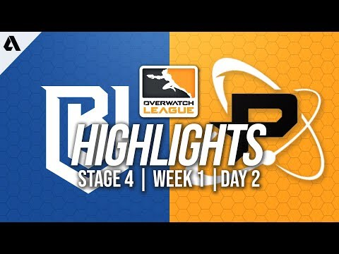 Boston Uprising vs Philadelphia Fusion | Overwatch League Highlights OWL Stage 4 Week 1 Day 2