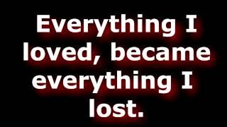 Repeat youtube video Bring Me The Horizon - It Never Ends Lyrics