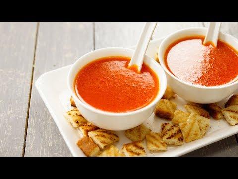 होटल स्टाइल टमाटर का सूप बनाने की विधि - Tomato Soup Recipe Perfect Cookingshooking