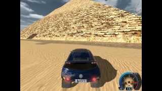 """#1. Old games. """"World Racing 2 - Egipt, VW Touareg Rally"""""""