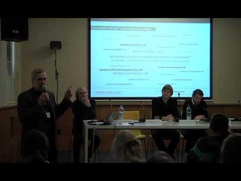"""Robert Špaček (SK) - Conference """"The city in 2112"""", Bratislava, 2012"""