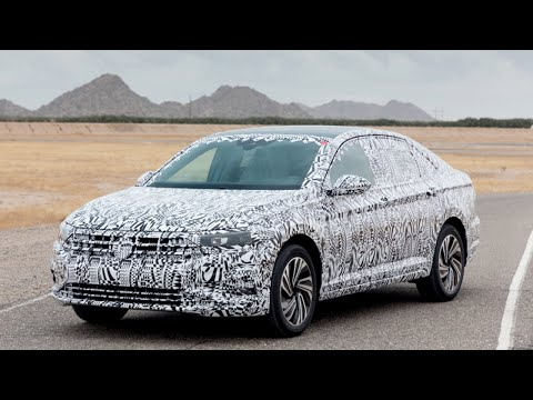 [HOT NEWS] 2019 Volkswagen Jetta Prototype at Arizona Proving Grounds