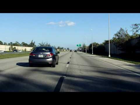 Sawgrass Expressway (FL 869 Exits 11 to 21) northbound