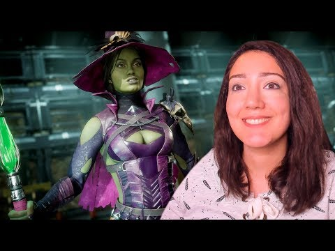 Playing with Jade WITCH Halloween DLC Skin! - Mortal Kombat 11 Jade Kombat League Online Matches