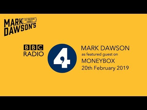 Mark Dawson discusses self publishing as a guest on BBC Radio 4's Moneybox (Feb 20th 2019) Mp3