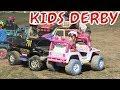 Kids Power Wheels Demolition Derby At Donnybrook Ontario Fair 2017 Part 3
