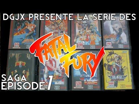 [Saga #001] Découvrez la série des Fatal Fury sur Neo Geo !