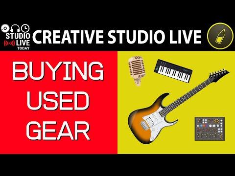 Buying Used Audio Gear - Creative Studio Live