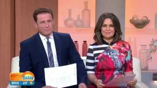 "KARL STEFANOVIC ABSOLUTELY LOST IT OVER LISA WILKINSON'S BEARD ""IN HER GENES"""