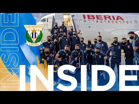 📹 INSIDE | ¡El Leganés regresó con 3 puntos de Málaga!