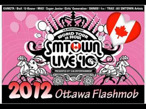 SMTown 2012 Ottawa Flashmob Song Mix