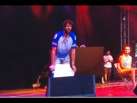 LIL DICKY STRIPS DURING LEMME FREAK | 2017 FIREFLY MUSIC FESTIVAL