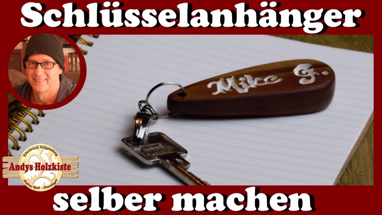 Schlüsselanhänger Selber Machen Aus Holz Vom Pflaumenbaum Diy