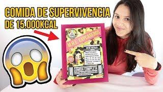 Probando comida de SUPERVIVENCIA MILITAR de 15000KCAL