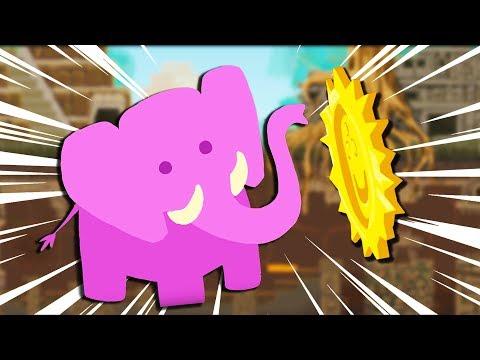 ELEPHANTASITC Temple MADNESS! - Ultimate Chicken Horse Gameplay - Elephantastic Update