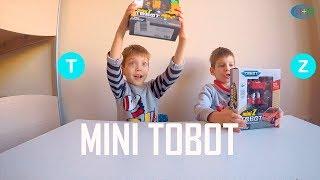 MINI TOBOT T and Z Распаковываем играем и трансформируем