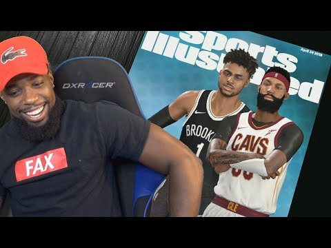 ME AND DSNITCH (DEANGELO RUSSELL) MADE SPORTS ILLUSTRATED MAGAZINE! NBA 2K18 MyCareer Episode 18