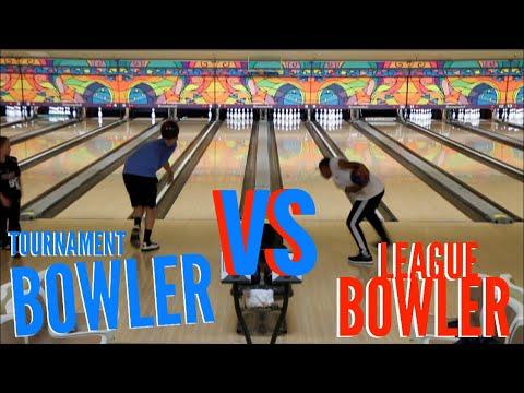 Tournament Bowler VS League Bowler