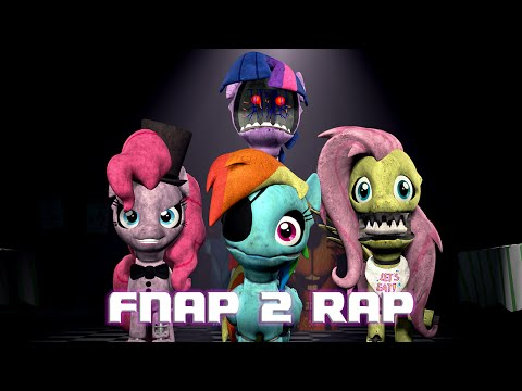 [SFM] Five Nights At Pinkie's 2 Rap (TheLunaticGamer Remake) [60FPS, FullHD]