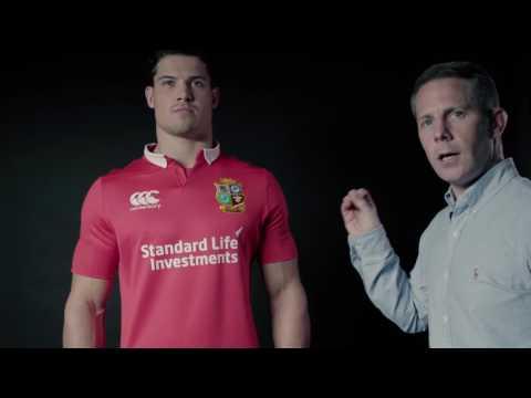 THE BRITISH & IRISH LIONS 2017 ELITE JERSEY FROM CANTERBURY
