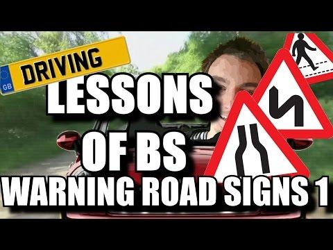 Driving Theory Revision - Warning Road Signs 1