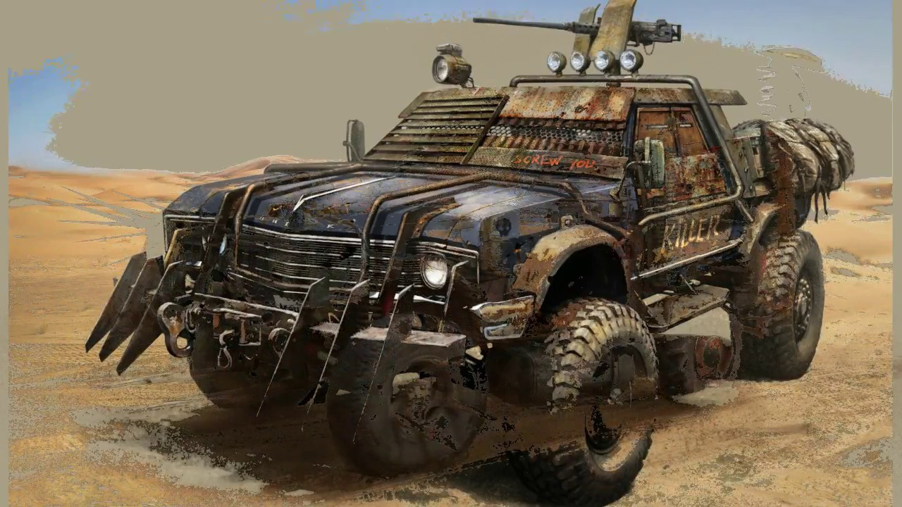 prequel to the post apocalypse vehicle build youtube rh youtube com post apocalyptic characters post apocalypse car game