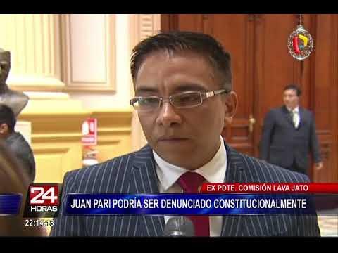 Excongresista Juan Pari conocía pagos de Odebrecht a First Capital y no los hizo públicos