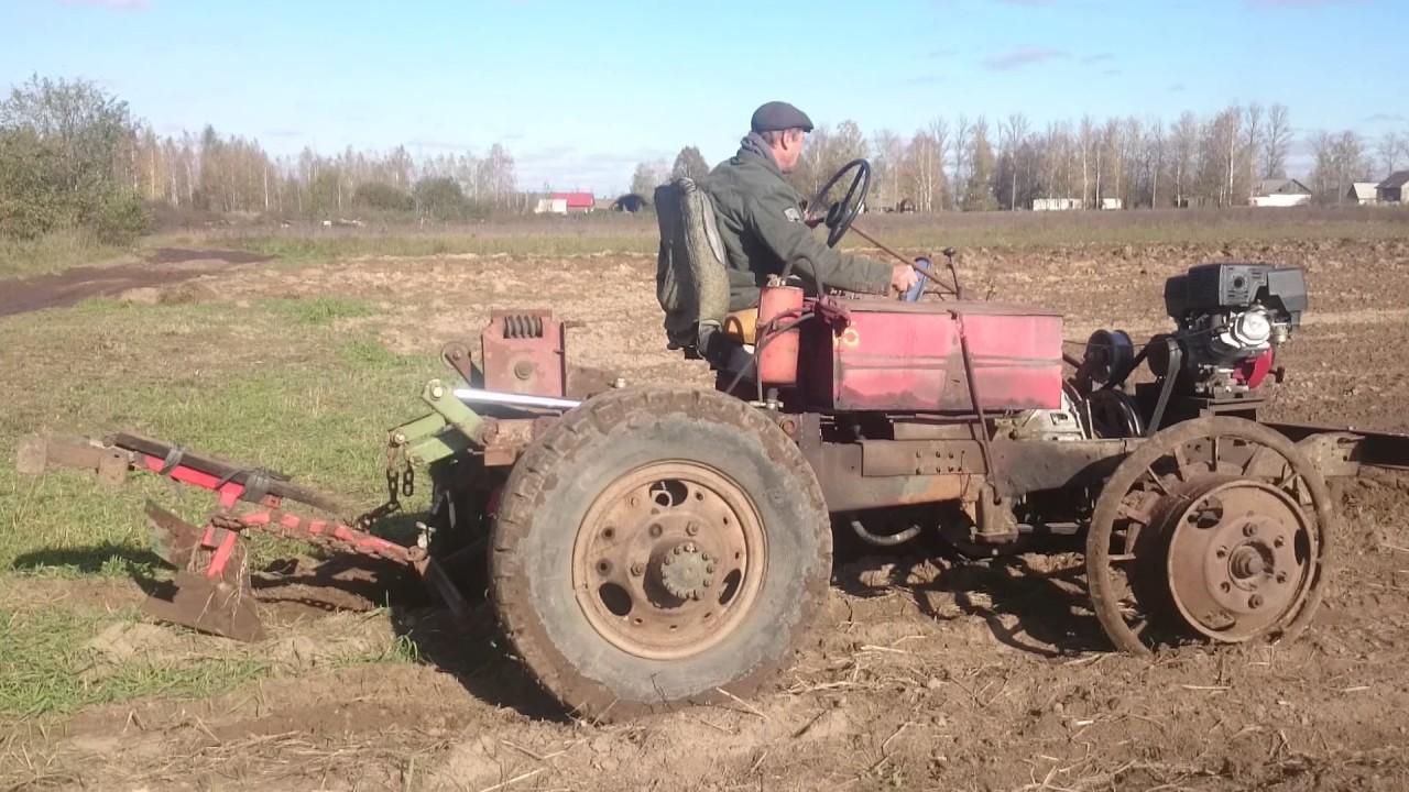Самодельные трактора перевозка леса и пашут фото