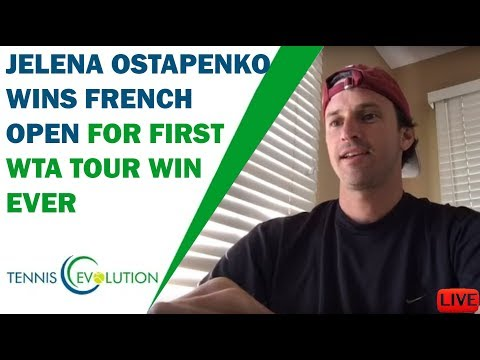 Jelena Ostapenko Wins French Open For First WTA Tour Win Ever